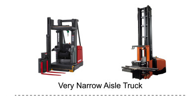 Very Narrow Aisle Truck
