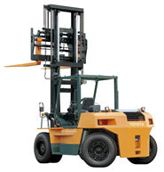 Toyota Forklift 10 16 tan
